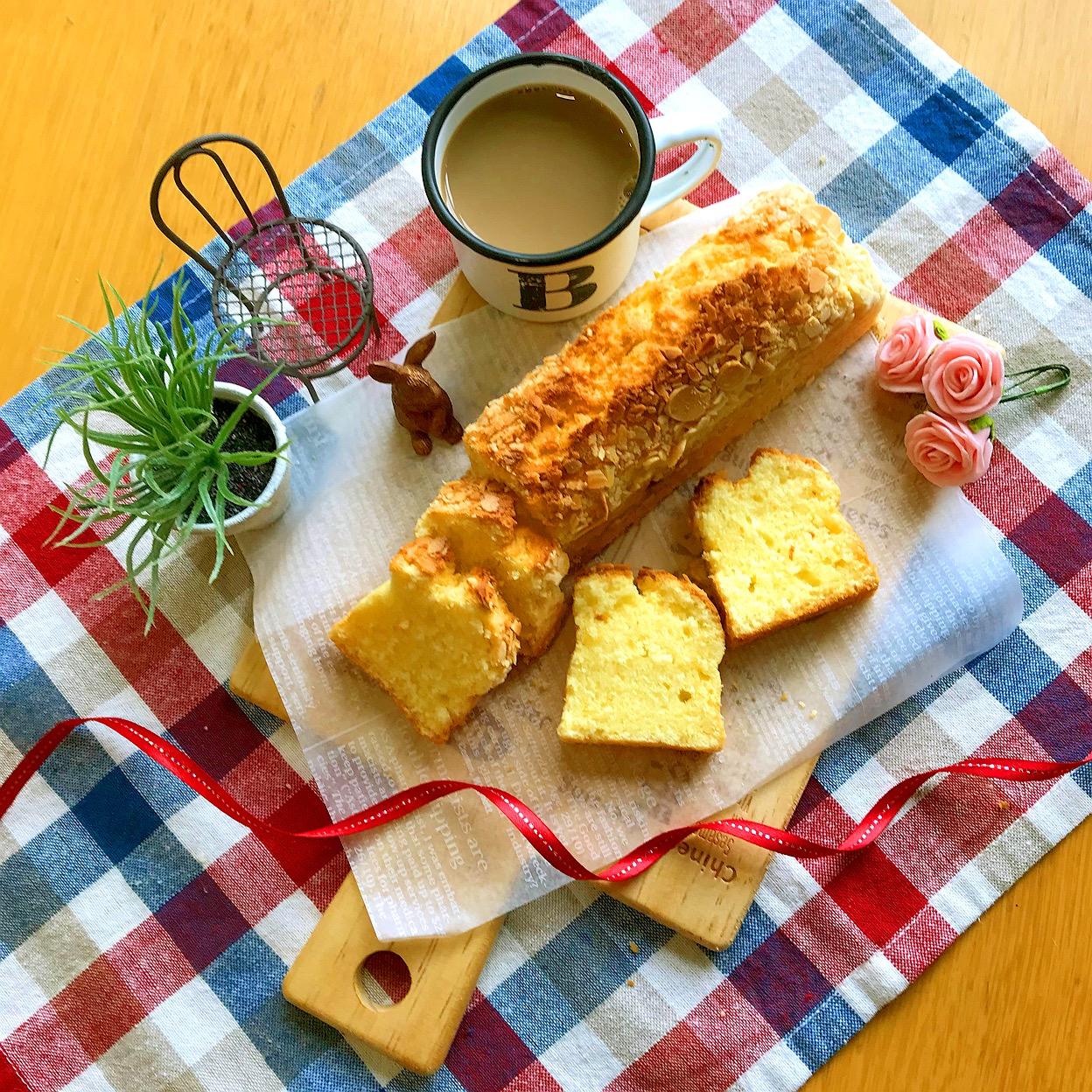 whip cream pound cake