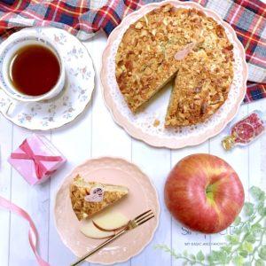 リンゴ紅茶ケーキ