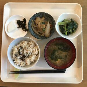 マクロビ夕食2日目