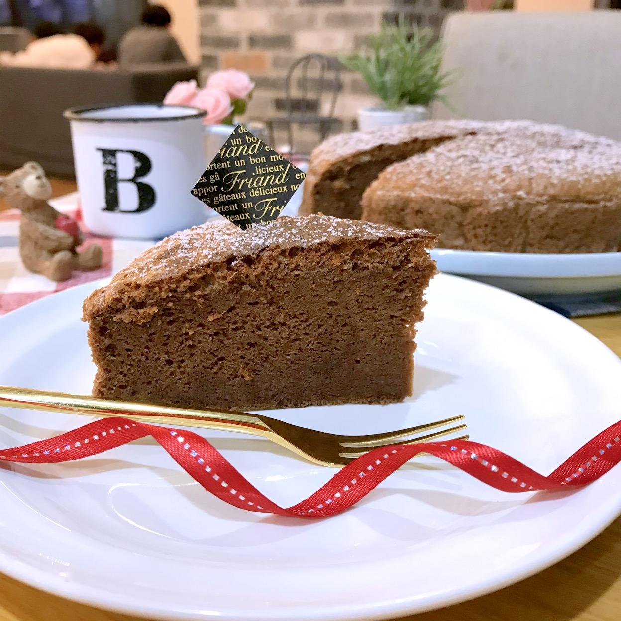 チョコ味台湾カステラ