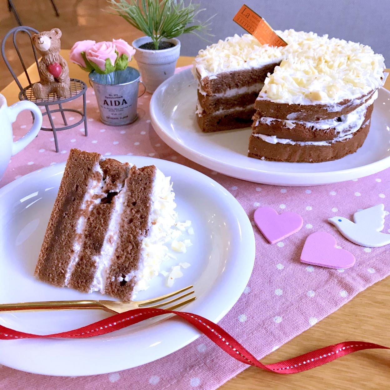チョコのレイヤーケーキ