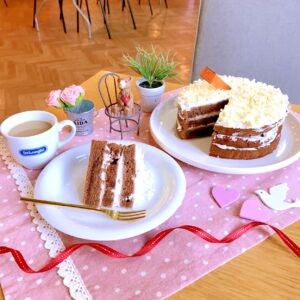 ココアのレイヤーケーキ