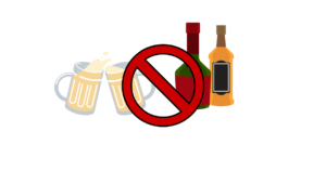 ALCOHOLE BANNED